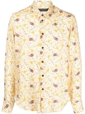 Żółta klasyczna koszula Garçons Infideles