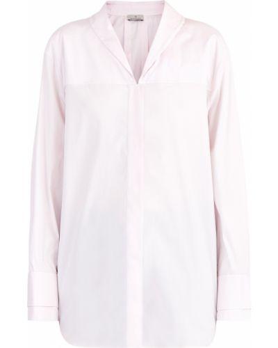 Хлопковая рубашка - розовая Maison Ullens