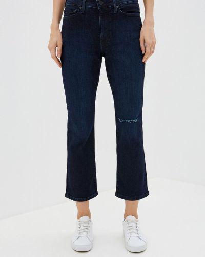 Широкие джинсы расклешенные синие Banana Republic
