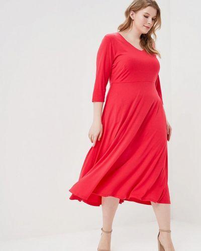 Розовое платье весеннее Svesta
