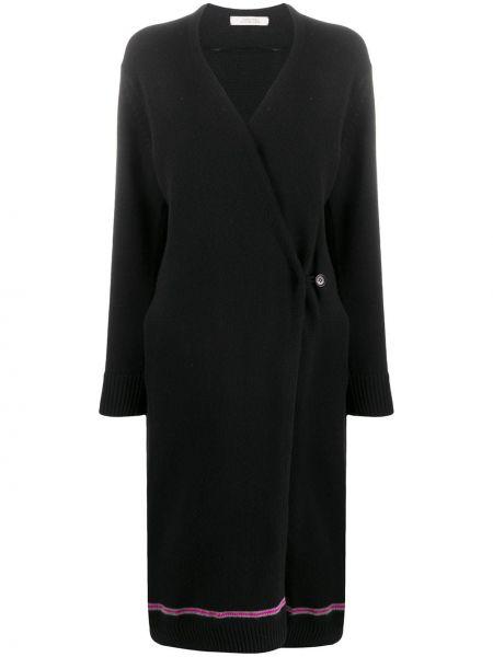Черное кашемировое пальто оверсайз Dorothee Schumacher