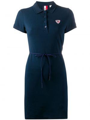 Классическое платье мини Rossignol