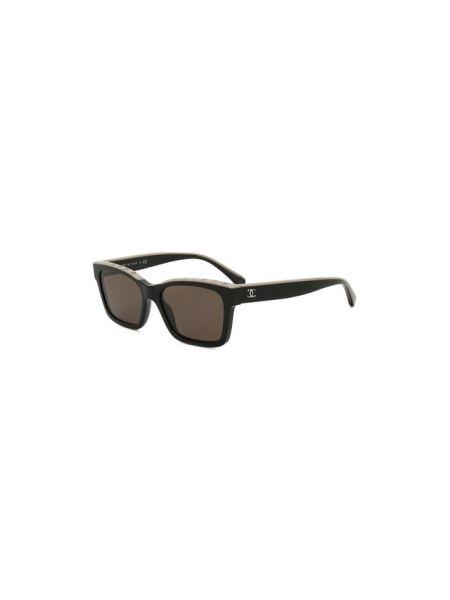 Белые муслиновые солнцезащитные очки квадратные Chanel