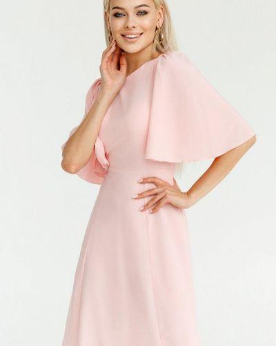 Прямое платье - розовое Gepur