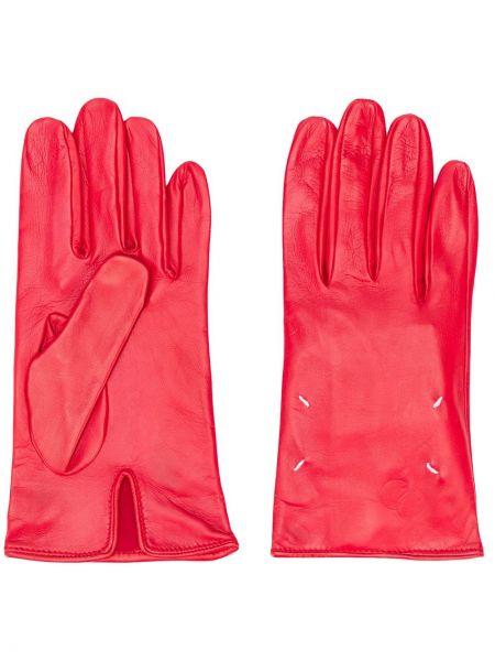 Skórzany rękawiczki z prawdziwej skóry Maison Margiela