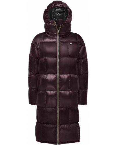 Czerwony płaszcz zimowy K-way