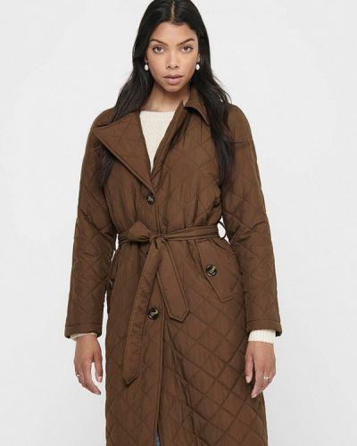 Теплая коричневая куртка Jacqueline De Yong