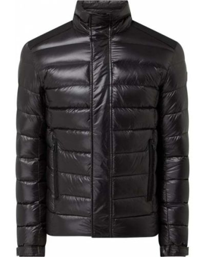 Czarna kurtka puchowa ze stójką na rzepy Colmar Originals