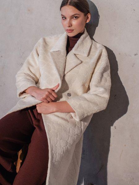 Пальто casual - белое Mariolli
