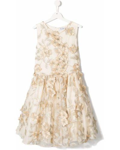 Платье с рукавами плиссированное без рукавов Lesy
