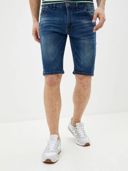 Синие джинсовые шорты из овчины Hopenlife