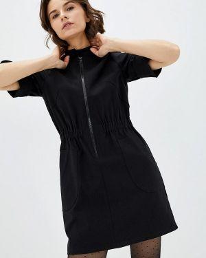 Платье - черное 7arrows