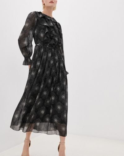 Прямое черное платье Vera Moni