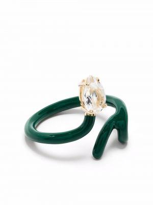 Żółty złoty pierścionek Bea Bongiasca