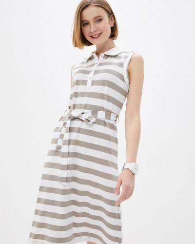Бежевое платье Luhta
