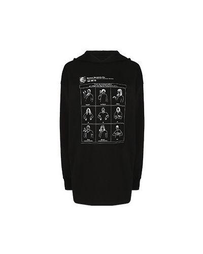 Платье - черное Mm6