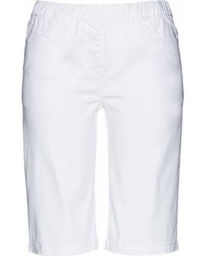 Бермуды - белые Bonprix