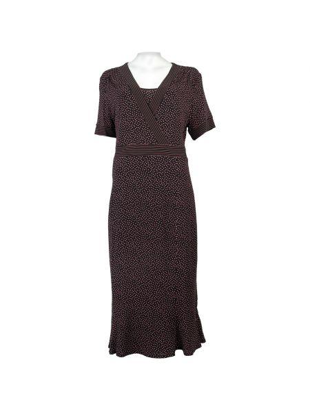 Платье из вискозы - черное Elena Miro