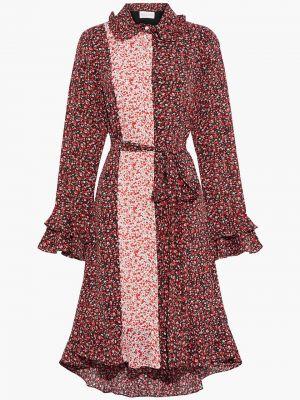 Асимметричное платье-рубашка с подкладкой из крепа Mikael Aghal