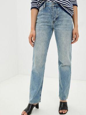 Прямые джинсы - голубые Mustang
