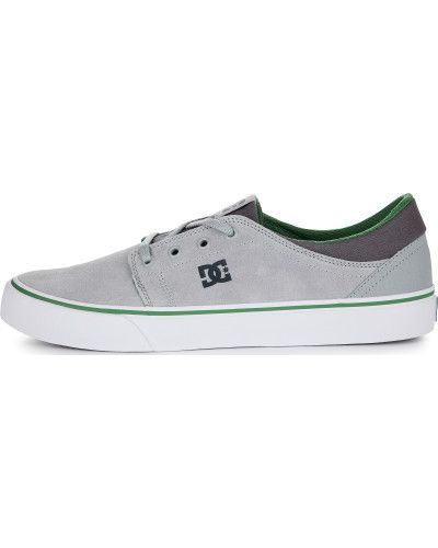 Кеды замшевые серые Dc Shoes