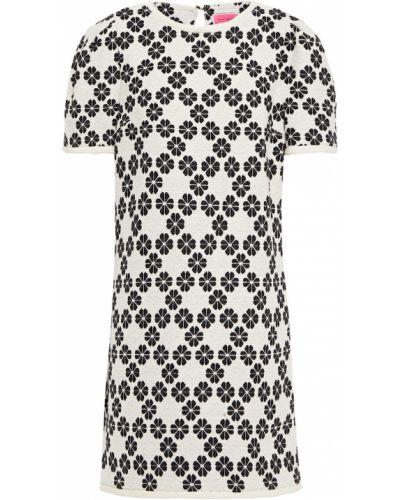 Белое платье мини твидовое Kate Spade New York