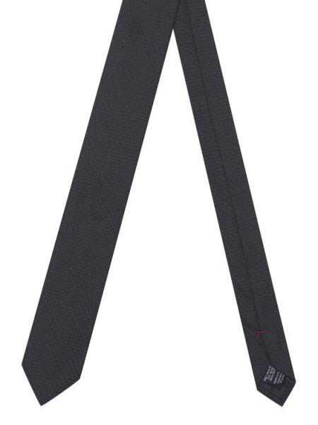 Krawat - czarny Hugo