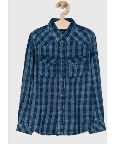 Рубашка с узором в клетку Name It