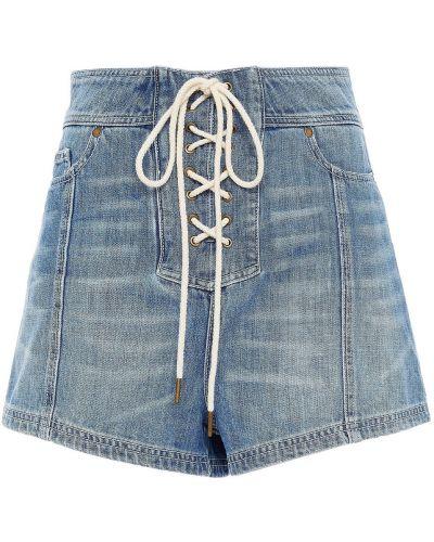 Niebieskie jeansy Zimmermann