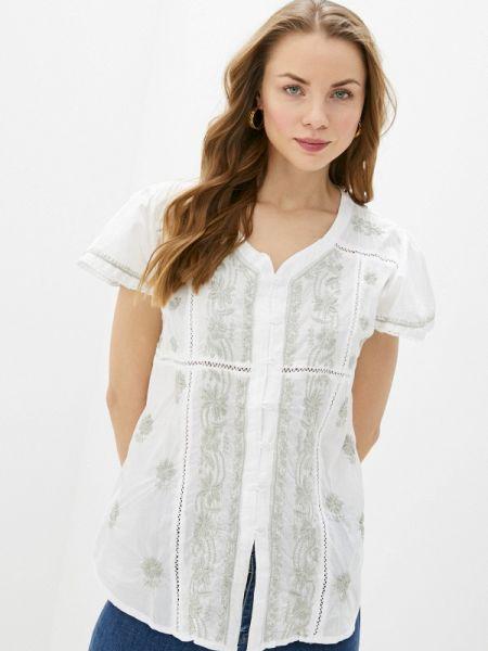 Блузка с коротким рукавом белая весенний Fresh Cotton