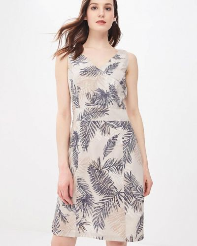 Бежевое платье Jack Wolfskin