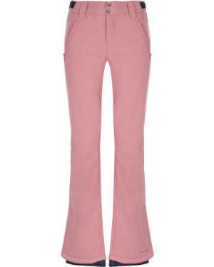 Спортивные брюки утепленные розовый Protest