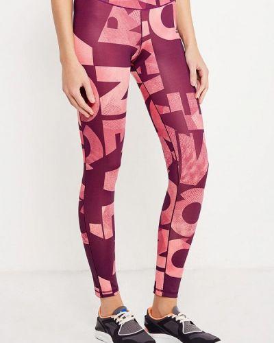 Фиолетовые леггинсы Adidas