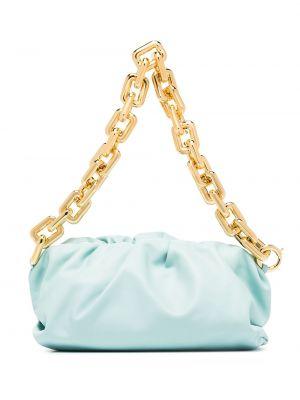 Niebieski złoty łańcuszek Bottega Veneta