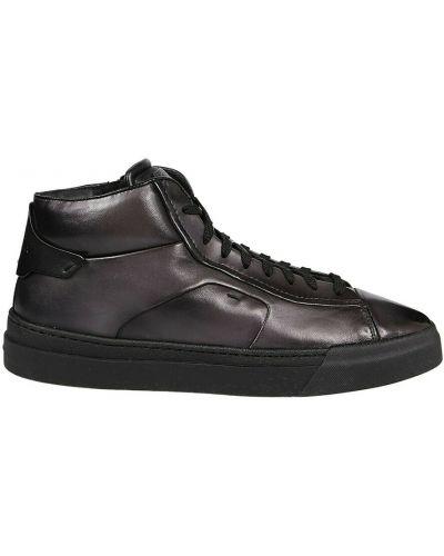 Szare sneakersy Santoni