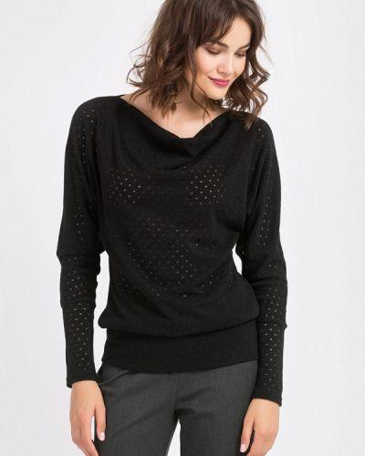 Черный пуловер Remix