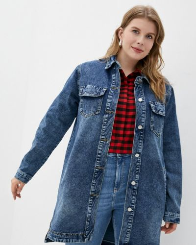 Джинсовая куртка - синяя Chic De Femme