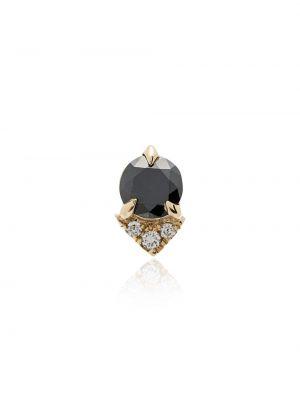 Черные золотые серьги Lizzie Mandler Fine Jewelry