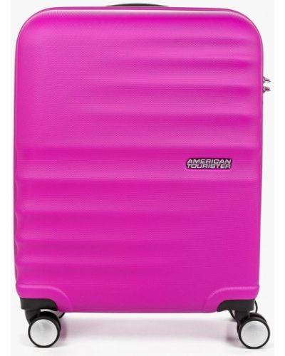 Чемодан фиолетовый American Tourister