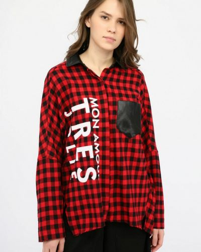 Рубашка с длинным рукавом красный итальянская Alcott