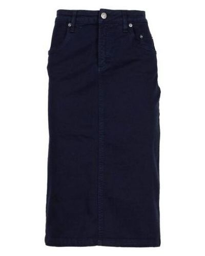 Niebieska spódnica Siviglia