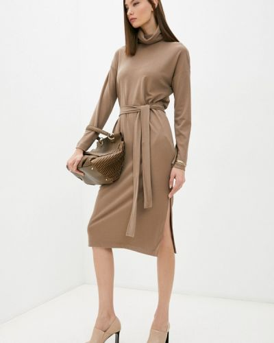 Вязаное платье - бежевое French Connection