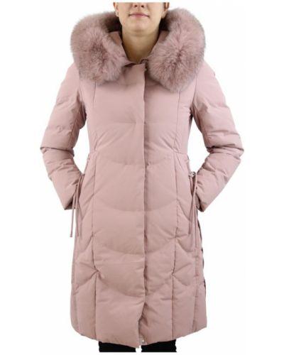 Różowy płaszcz Bosideng