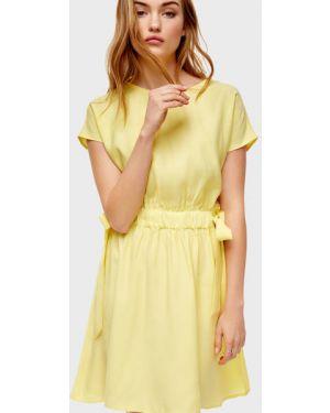 Платье мини с поясом на резинке Ostin