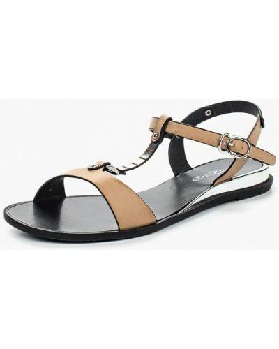 Бежевые сандалии Amazonga