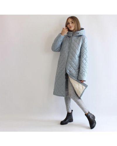 Стеганое пальто - белое Rozetka