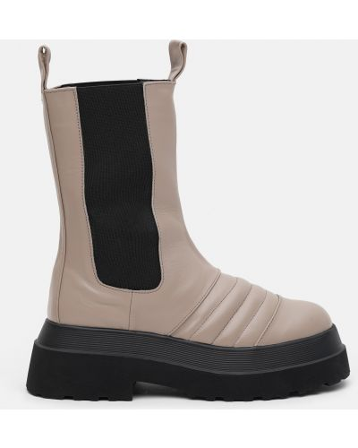 Ботинки челси - черные Konors