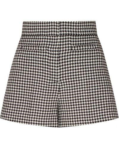 Короткие шорты черные шерстяные Sandro