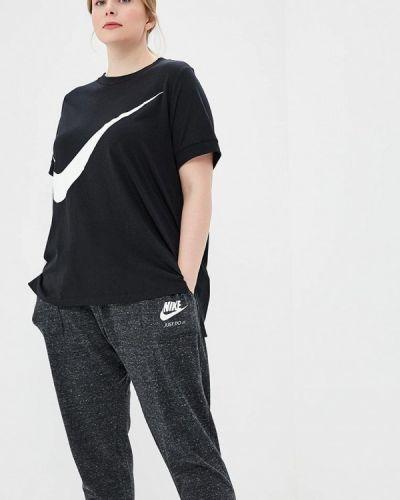 Черное поло Nike