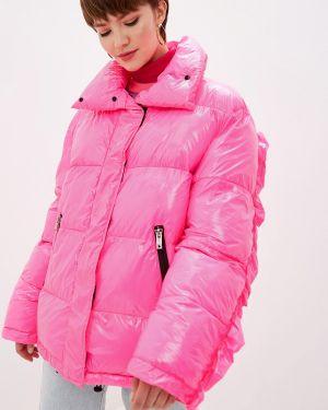 Теплая розовая утепленная куртка Ice Play